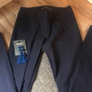 The Limited navy exact stretch pants